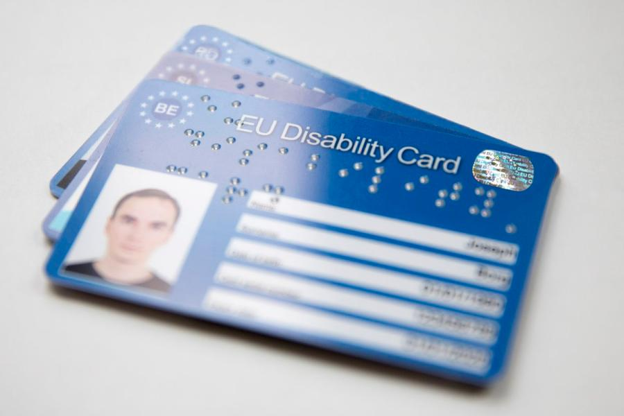 EU Disability Card : EU Disability Card - Agrandir l'image